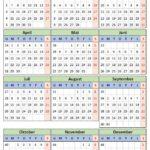 2019 Kalender
