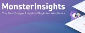 Foretrukne utvidelser for WordPress, besøks analyse.